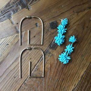 🌞JEWELRY🌞 Statement earrings from Francesca's!